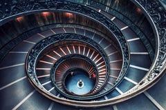 Staircaise σε Βατικανό, Ρώμη Στοκ εικόνα με δικαίωμα ελεύθερης χρήσης