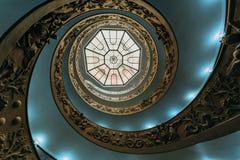 Staircaise en el Vaticano, Roma Fotografía de archivo libre de regalías