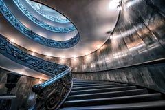 Staircaise en el Vaticano, Roma Imagen de archivo