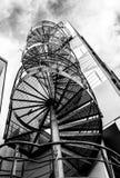 Staircaise en spirale dehors photos stock