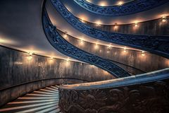 Staircaise in Vatican, Rome Stock Photos