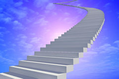 Staircase. Royalty Free Stock Image