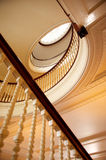 Staircase. A staircase in the entry way royalty free stock photo