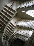 Staircase. View from the top royalty free stock images