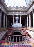 Staircase. With chandelier, Dolmabahce Palace, Istanbul, Turkey Stock Image