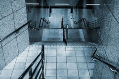Staircase. Architecture of stairs in modern building in city Stock Photos