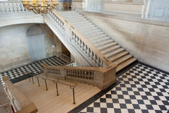 Staircase. Top view of a staircase, classic old building Royalty Free Stock Images