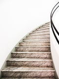Staircase. Beautiful staircase at a villa - nice background Stock Photography