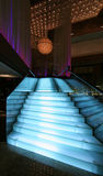 Staircase. In trendy club restaurant Royalty Free Stock Photography