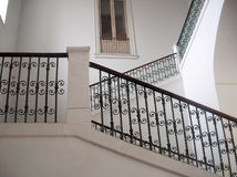 Staircase. A close up of staircase in an italian house Royalty Free Stock Photos