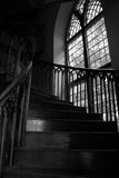 Staircase. Inside a cathedral royalty free stock images