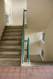 Staircase. In a block of apartments Royalty Free Stock Image