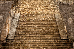 Staircase of the Acropolis, Mexico Royalty Free Stock Photos