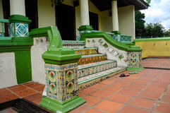 Staircase of Air Barok Mosque at Jasin Malacca, Malaysia Royalty Free Stock Images