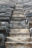 Staircase in an amphitheater Stock Image