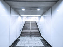 Staircase in basement Royalty Free Stock Image