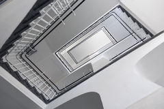 Staircase from below Royalty Free Stock Photography