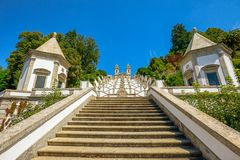 Staircase of Bom Jesus do Monte Royalty Free Stock Images