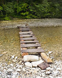 Staircase-bridge. Stock Photography