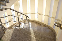 Staircase in building hotel Royalty Free Stock Photo