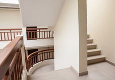 Staircase in an building Royalty Free Stock Photo
