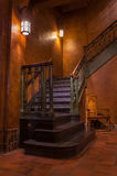 Staircase in a castle. Royalty Free Stock Images