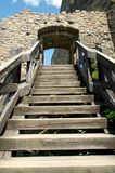 Staircase in castle Royalty Free Stock Photos