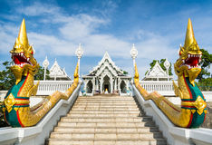 The staircase of the central entrance in Buddha Temple Kaeo Ko W