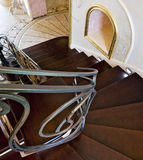 Staircase in a classic interior Royalty Free Stock Photos