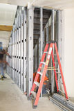Staircase Construction in Commercial Space stock photos