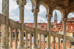 Staircase Contarini del Bovolo en Venecia, Italia Fotografía de archivo libre de regalías