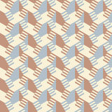 Staircase cube pattern. Abstract staircase cube seamless pattern royalty free illustration