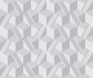 Staircase cube pattern Royalty Free Stock Photo