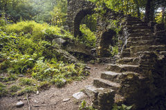 Staircase de señora Sherri Imagen de archivo libre de regalías