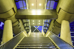 Staircase and entrance of BeatrixKwartier Tram stock images