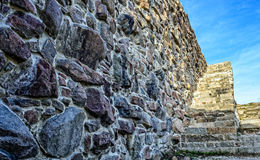 The staircase in Fredriksten Fortress. Royalty Free Stock Image
