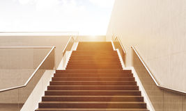 Staircase going up Stock Photography