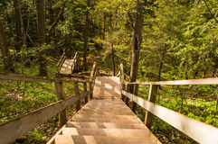 Staircase in the hills. Stock Photos