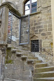 Staircase of a historic building, Viterbo Royalty Free Stock Images