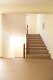 Staircase in hotel Stock Photo