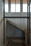 Staircase in the house under construction Royalty Free Stock Photography