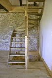 Staircase In Old House Royalty Free Stock Photography