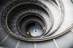 Staircase In Vatican Museum Stock Image