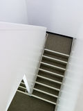 Staircase inside building architecture abstract Stock Photo