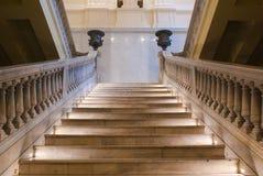 Staircase inside Casa Rosada Stock Photography