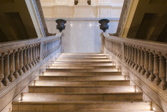 Staircase inside Casa Rosada Stock Photography