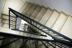 Staircase inside the house Royalty Free Stock Photos