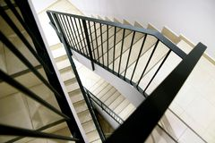 Staircase inside the house Royalty Free Stock Images