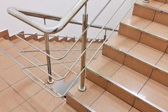 Staircase in the interior Stock Image