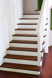 Staircase interior at home Royalty Free Stock Photography